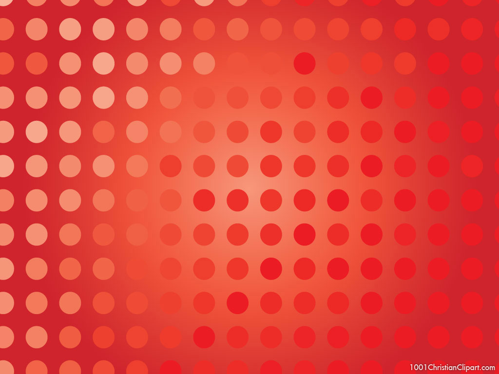 red polkadot background