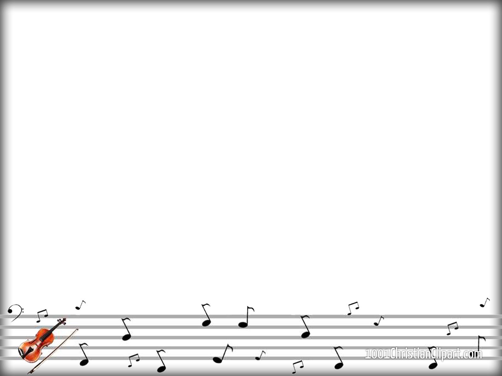 Listen to the music 1001 christian clipart for Music themed powerpoint templates