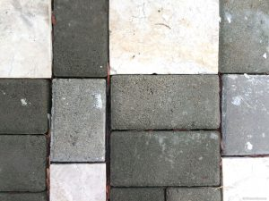 Brick Tile Flooring Outdoor Background