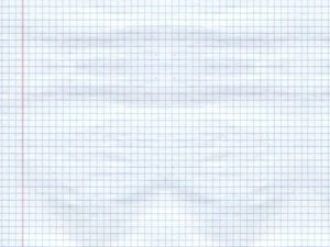 Blank Squared Notebook Paper Background