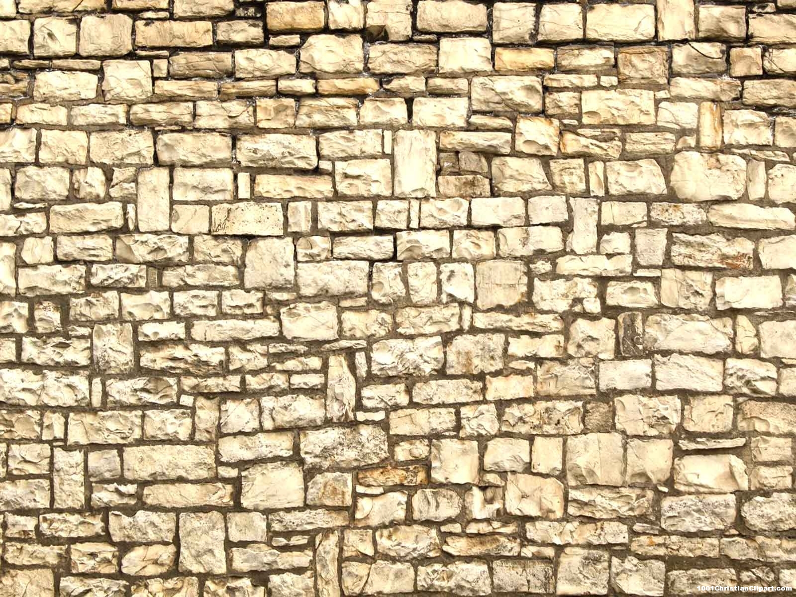 HDR Brick Wall Background