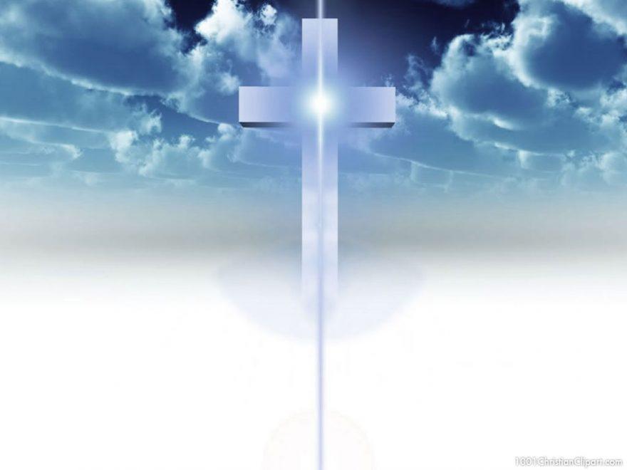 cross christian background