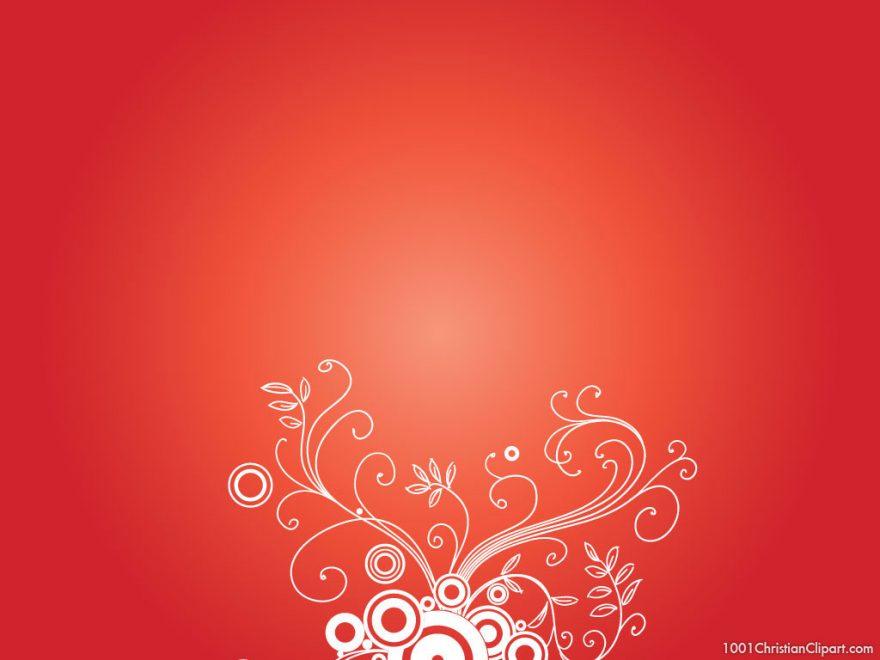 modern red background
