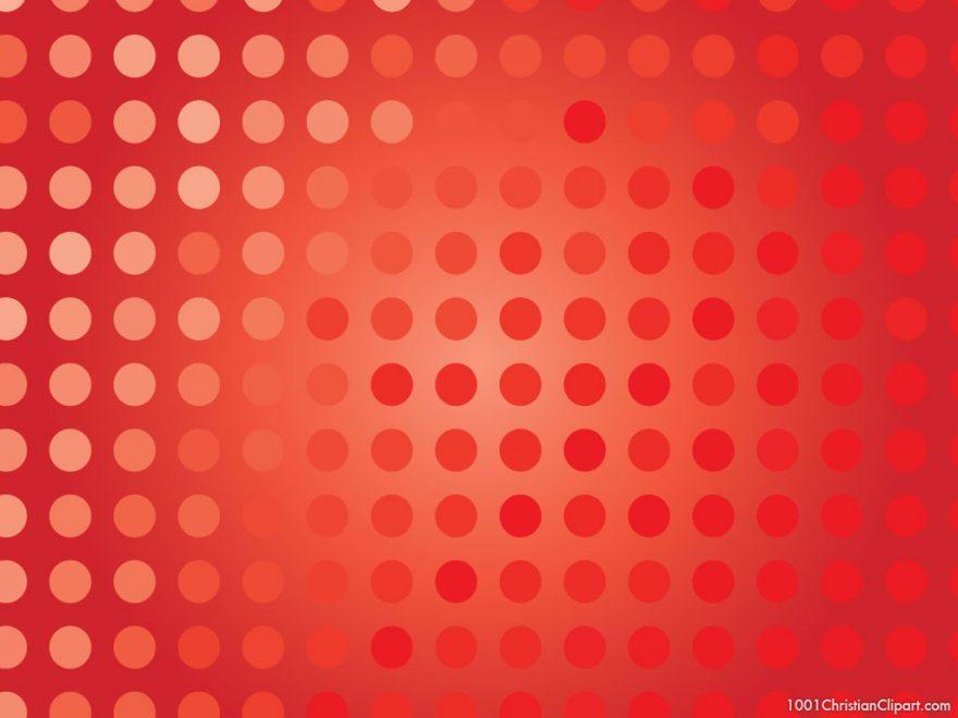 red polkadot background