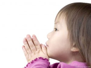 Praying Kid Background