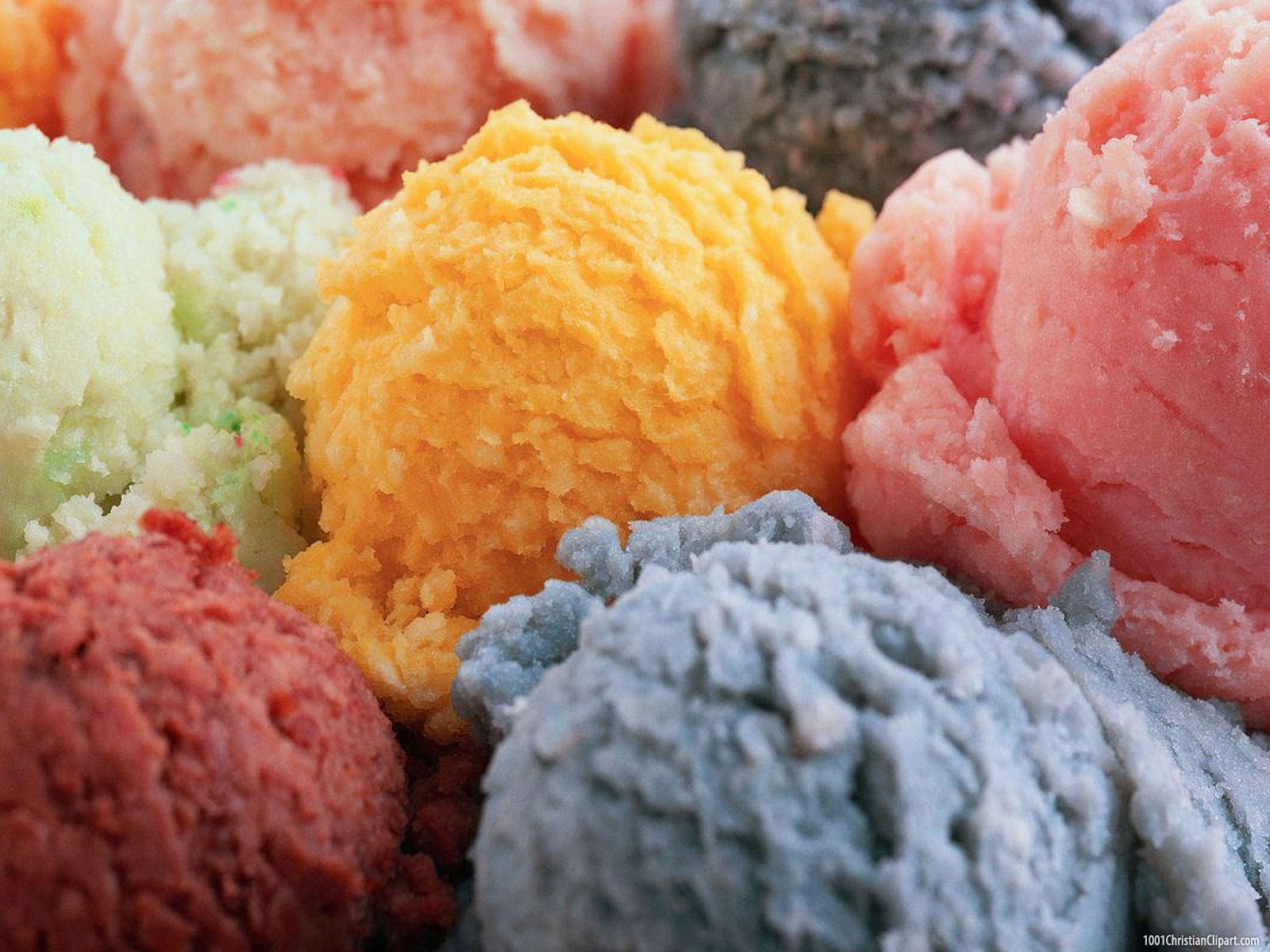 Colorful Ice Cream Presentation Background