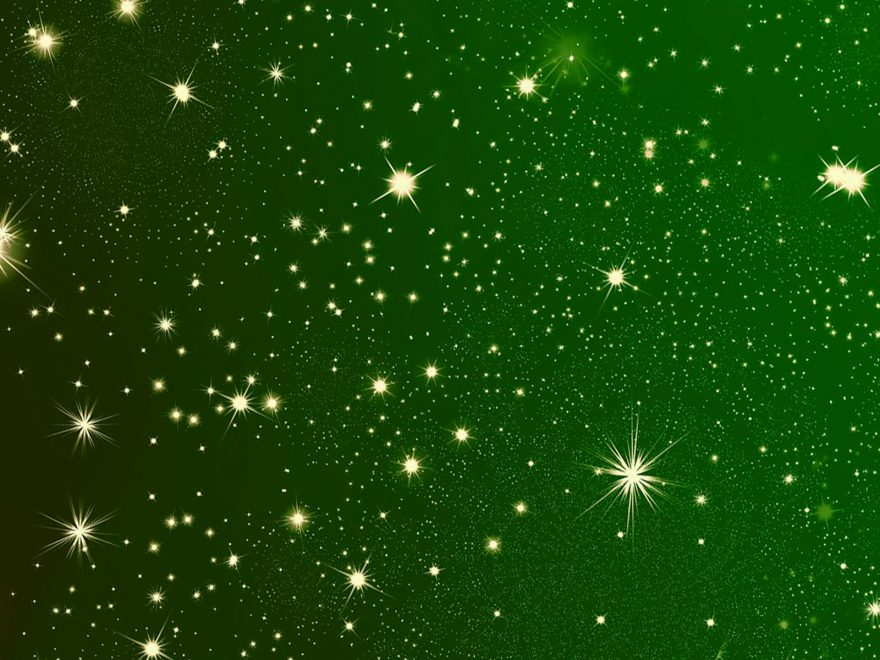 christmas-background-star-green